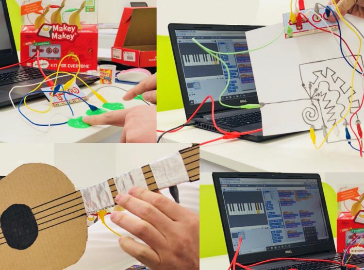 Scratch(スクラッチ)「Makey Makeyプロジェクト」作り方説明動画