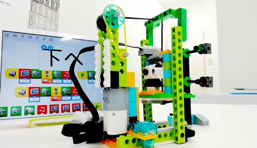 レゴWeDoでエレベーターを作ってみました!