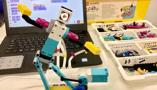 レゴ® エデュケーション SPIKEプライムをスタンダードコースの教材として導入!