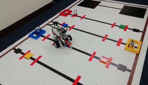 アフレルスプリングカップ2020小学生ミドル部門向けレゴEV3ロボット