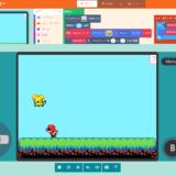 MakeCode Arcadeで作った簡単プラットフォームゲーム